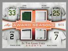 2018 Leaf In The Game Used Sports Cards 30