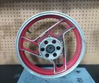 86-88 Yamaha FJ1200 Front Wheel Rim STRAIGHT red