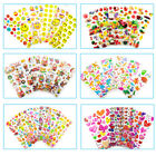20 Pcs 3D Puffy Kids Scrapbooking  Paper Crafts Party Favor Wall Stickers Lot