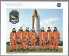 STS 126 MISSION CREW NASA OFFICIAL RELEASED 8 X 10 PHOTO LITHO EX PLUS