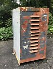 HAMILTON Wood Drawer METAL Linotype Type Printers LETTERPRESS CABINET Wow!
