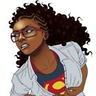 15 African American Undercover Superhero Woman planner stickers