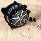 Shallow Cut Air Cleaner Kit For Harley Touring Street Glide Road King 17 18
