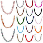 25pcs 10mm Wholesale Faceted Rondelle Crystal Glass Loose Spacer Beads Jewelry