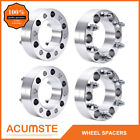 4PCS 2 Inch Wheel Spacers  6x55  For Toyota Tacoma Tundra 4 Runner Pickup