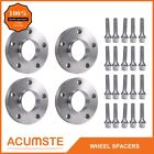 For BMW Hub Centric Wheel Spacers Staggered Kit 5x120 2 15mm  2 20mm +Bolts