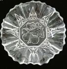 "'s Pioneer Ruffled Fruit Center 11"" Bowl  by Federal Glass Vintage FREE ship"