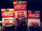M2 Machines Coca Cola 4 Car Premium Die Cast Collection