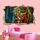 Native American Traditional Indians Wall Stickers 3d Art Poster Mural Decal SW8