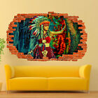 Native Traditional American Indian Wall Stickers 3d Art Poster Mural Decal SW9