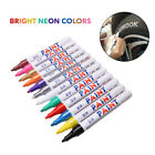 12 pack Assorted Metallic Paint Pen Marker Tire Markers Set of 12 Colors Pens