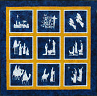 KIT ENTIRE NATIVITY LASER PRECUT QUILT TOP