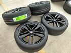 19 Ford Mustang GT OEM BLACK wheels rims tires 2015 2016 2017 2018 2019 NEW