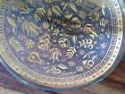 Georges Briard~ Persian Gardens~ Glass and 22 K~Gold Bowl~Mid Century~EVC