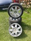 Seat Ibiza Wheels with 3 tyres 205 45Z R16 Skoda Fabia Vw Polo