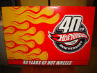 Hot Wheels 40th Anniversary Since 68 40 Car Set with VW Drag Bus New