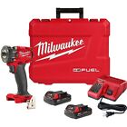 Milwaukee 2753 22CT M18 FUEL Brushless 1 4 Inch Hex Impact Driver Kit