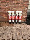 Vintage Nutcracker Toy Soldier Christmas Blow Mold Molds 40