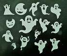 15 Halloween Ghost Die Cut Embellishment Paper Piecing Scrapbook Card Topper