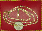 """**SOLID GOLD** Yellow Gold, Valentino Chain, Necklace, Lobster Clasp 16"""" 2.75mm"""