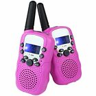 LeeKer LK-R018 Walkie Talkies for Kids Christmas Gift 22CH LCD Display Flashligh