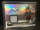 2012 CHRISTIAN YELICH BOWMAN PLATINUM AUTO RC RELIC PATCH CARD