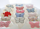 VINTAGE QUILT BLOCKS 15 Pc Estate Lot Hand Stitched Butterfly Elephant Squares
