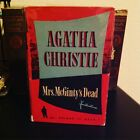 First Edition Agatha Christie Mrs McGintys Dead 1952Collins The Crime Club