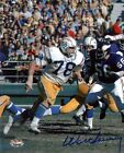 AFL San Diego Chargers WALT SWEENEY autograph signed 8x10 9x Pro Bowler PSA DNA