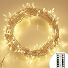 [Fernbedienung und Timer] 100er LED Outdoo(100 LED String Lights w/ Remote)