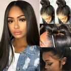 Silk Top 100% Peruvian Remy Human Hair Full Lace Wig Free Part Women Pre Plucked