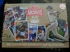2016 Topps ARCHIVES 65th Anniversary Edition Factory Sealed Box-1 AUTOGRAPH BOX