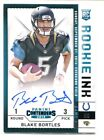 2014 Contenders BLAKE BORTLES Rookie RC Auto Autograph Rookie Ink