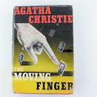 Agatha Christie The Moving Finger First American Reprint Edition 1942 Rare Find