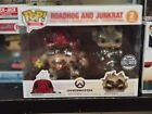 SDCC 2018 Blizzard Exclusive Overwatch Roadhog and Junkrat 2 Pack Funko Pop!