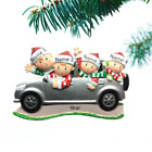 Personalized Christmas Tree Ornaments Family 3 4 5 6 SUV Trip Holiday Ornament