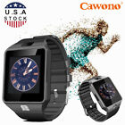 Black DZ09 Bluetooth Smart Watch Sport GSM SIM Call For Samsung LG Android Phone