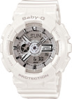 Casio Baby G Shock BA-110-7A3 White Resin Women's Watch - No Box - US Seller