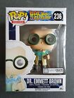 Back To The Future Dr. Emmett Brown Funko Pop! MIB LootCrate Exclusive