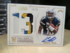 National Treasures Autograph Colossal Jersey Chargers Keenan Allen 08 25 2013