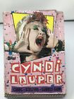Cyndi Lauper Topps 1985 Box Of 36 Packs Of Trading Cards