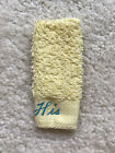 "VINTAGE BARBIE KEN TERRY TOGS #784 TERRY YELLOW ""HIS"" TOWEL  PRISTINE MINT!!"