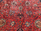 10x13 RED ANTIQUE RUG HAND KNOTTED PERSIAN RUGS IRAN woven made oriental 9x13 ft