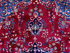 10x13 ANTIQUE HAND KNOTTED PERSIAN RUG RED RUGS IRAN woven made oriental 9x12 ft