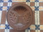 Antique, Sheaf of Wheat Butter Stamp (Mold, Print, Press) Estate Find