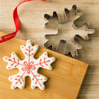 Stainless Steel Snowflake Shape Cookie Cutter Moldes Cake Decor Baking Mold Tool