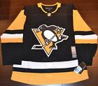Pittsburgh Penguins Adidas Authentic Home NHL Hockey Jersey Size 50