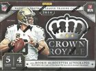 2014 Crown Royale Factory Sealed Football Hobby Box Jimmy Garoppolo AUTO ?