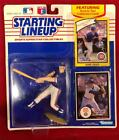 1989 STARTING LINEUP CHICAGO CUBS MARK GRACE FIGURE FIGURINE ~ EUC ON CARD