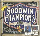 2012 Goodwin Champions Factory Sealed Hobby Box -- 3 Hits per Box !!!